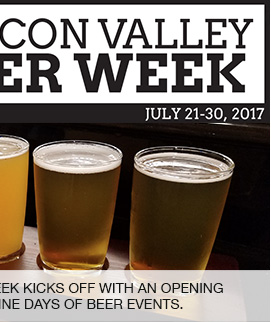 Introducing the Fifth Annual Silicon Valley Beer Week, the region's ultimate beer-lovers event.  link