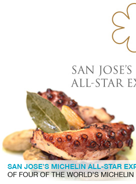San Jose's Michelin All-Star Experience ADEGA will host a lineup of four of the world's Michelin starred Portuguese restaurants.link
