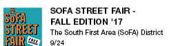 SOFA Street Fair - Fall Edition '17 The South First Area (SoFA) District 9/24 link