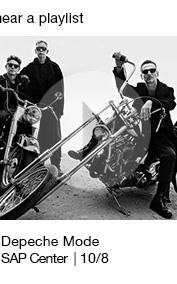 Depeche Mode SAP Center    10/8 link