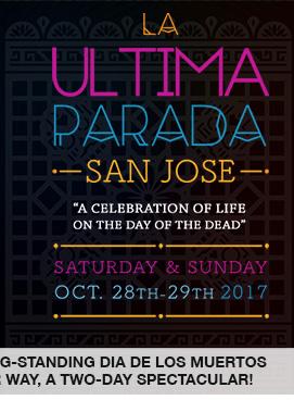 LA ULTIMA PARADA San Jose's long-standing Dia de los Muertos celebration returns in a major way, a two-day spectacular! link