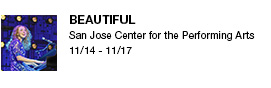 Beautiful San Jose Center for the Performing Arts 11/14 - 11/17 link