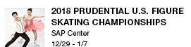 2018 Prudential U.S. Figure Skating Championships SAP Center  12/29 - 1/7 link