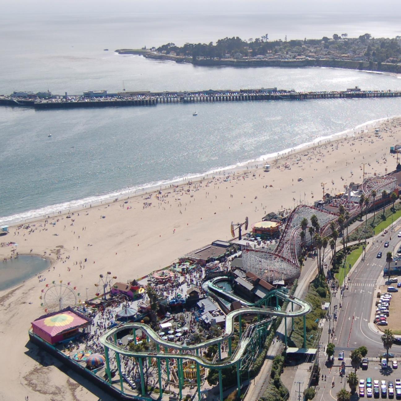 Santa Cruz Beach Boardwalk San Jose