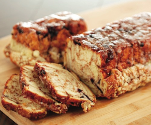 Delicious and moist, fresh baked Cinnamon Bread