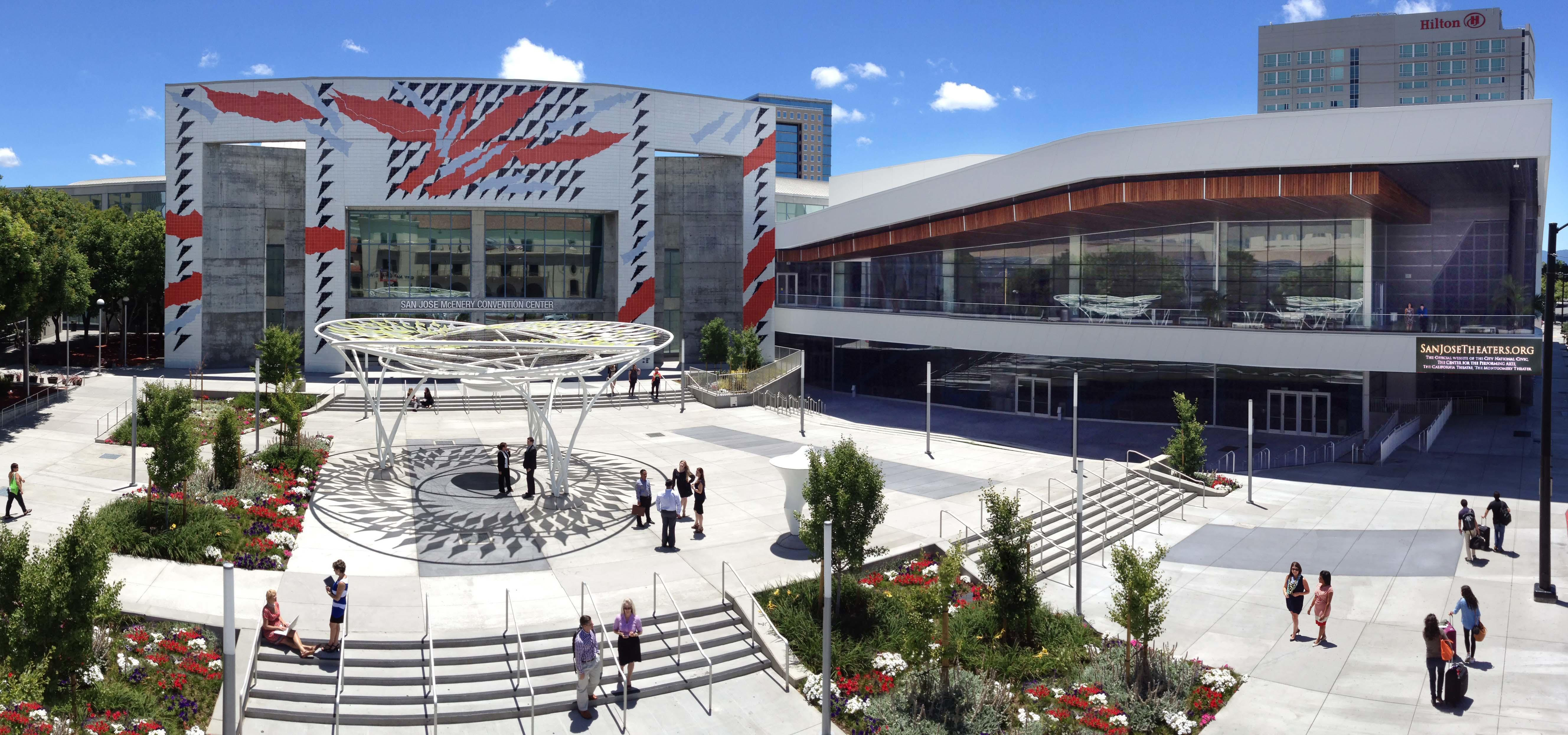 San Jose Mcenery Convention Center Main Entrance