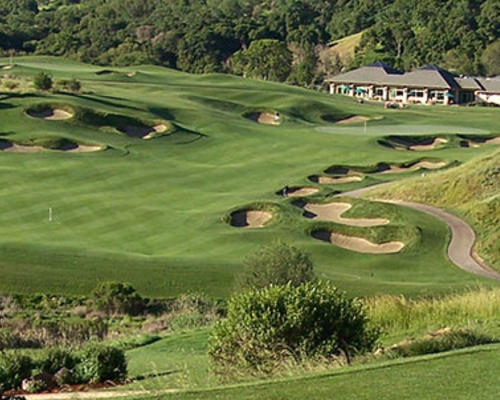 Golf course at Cinnabar Hills