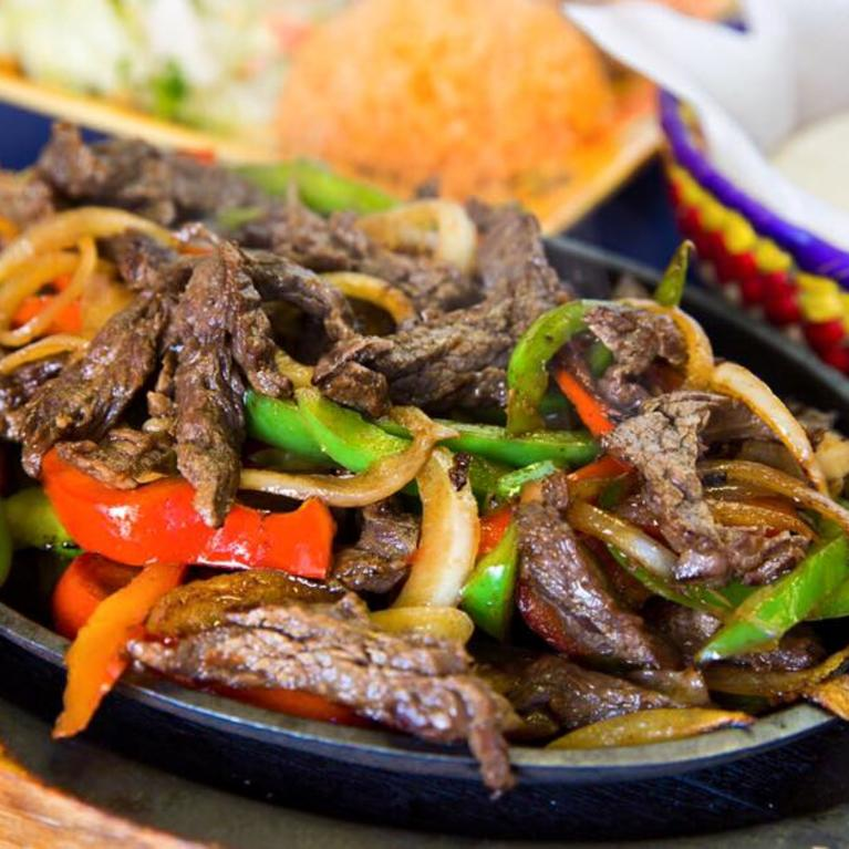 beef strips and vegetables