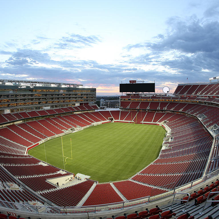 Aerial view of Levi's Stadium