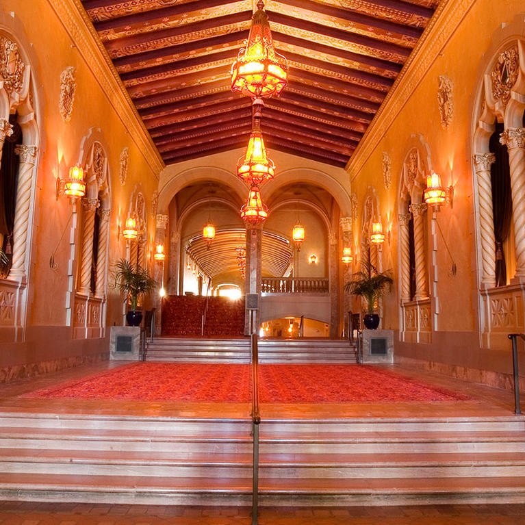 California Theatre Lobby