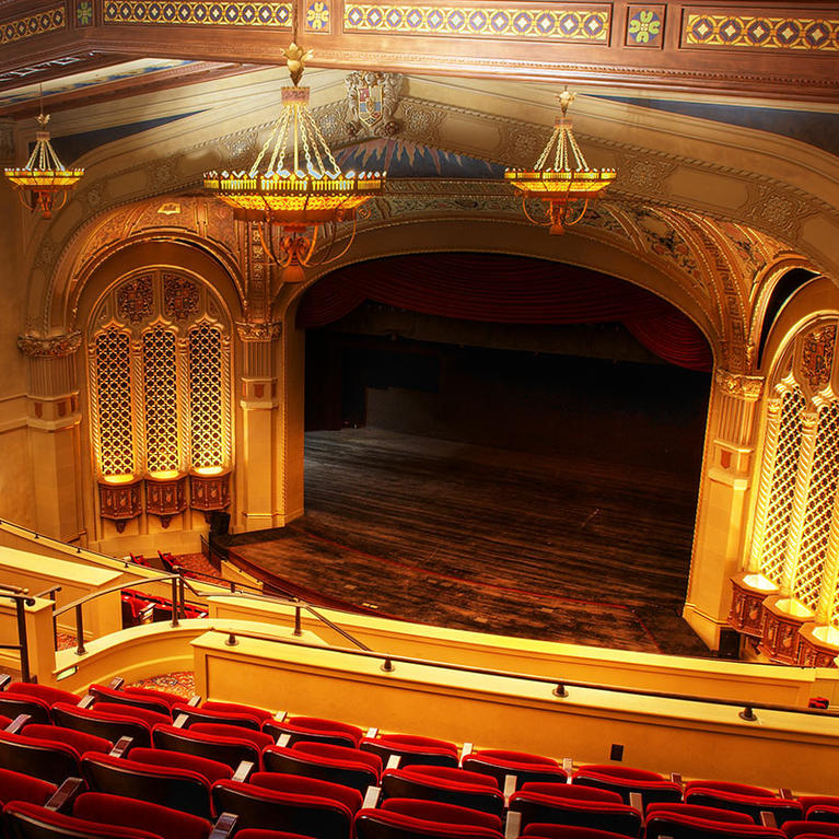California Theatre from Balcony