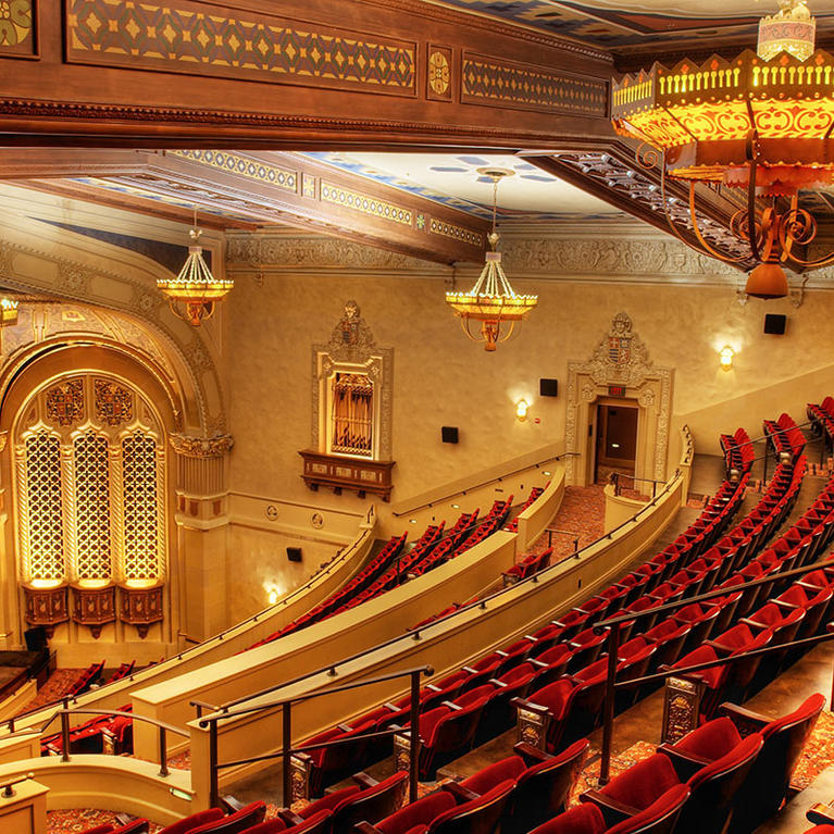 California Theatre theater seats