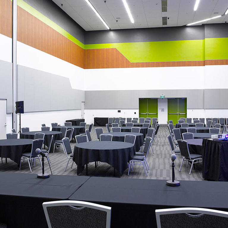 San Jose McEnery Convention Center 210 sections half moon