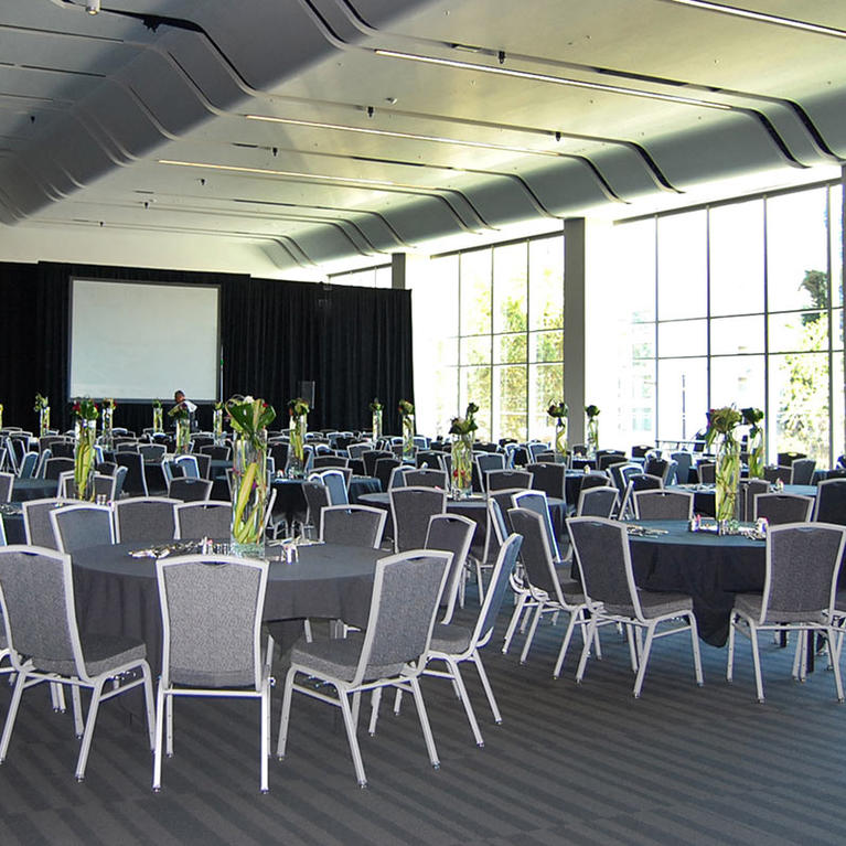San Jose McEnery Convention Center 220 Grand Ballroom rounds small