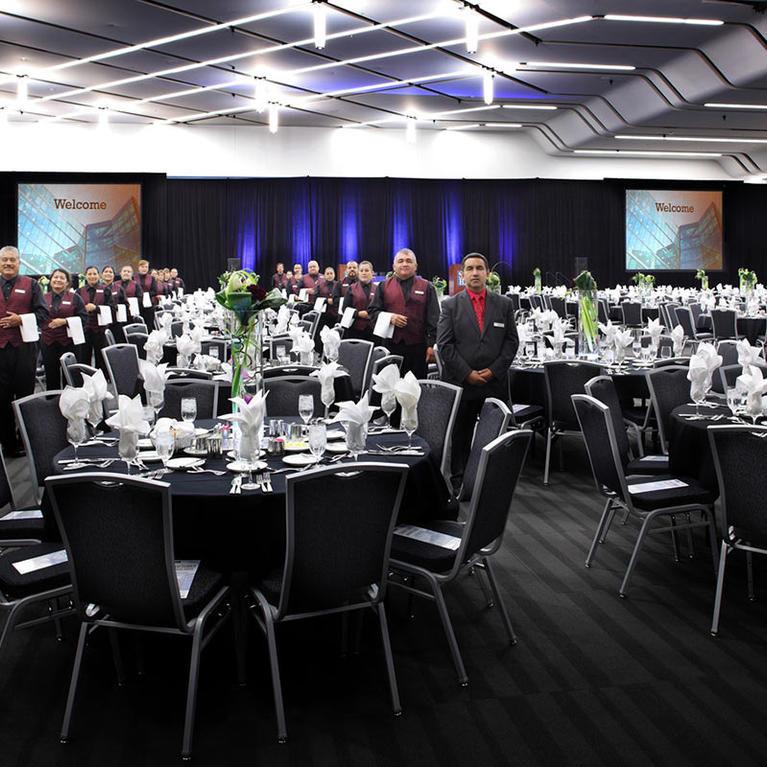 San Jose McEnery Convention Center 220 Grand Ballroom small Banquet