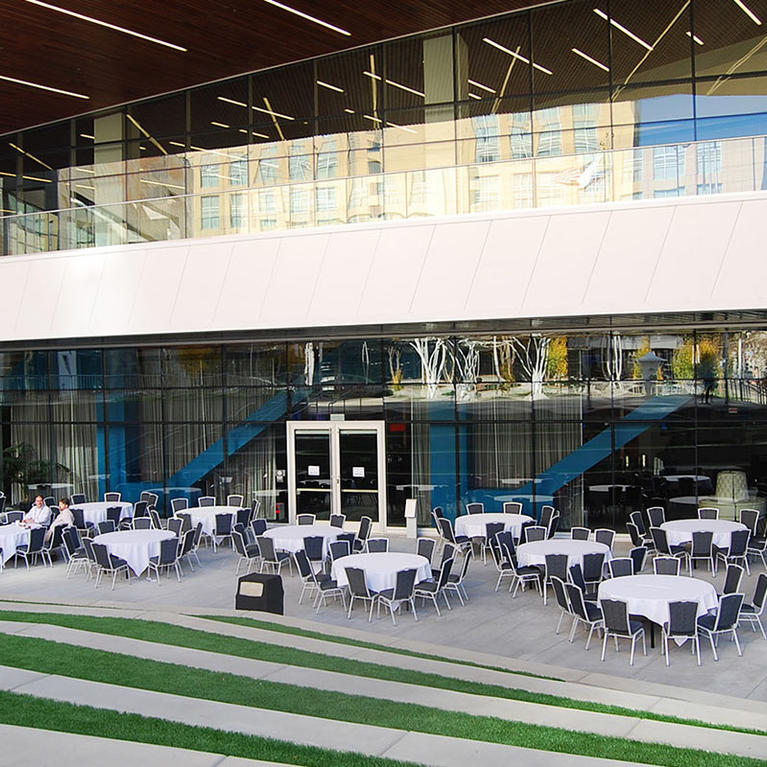 San Jose McEnery Convention Center Exterior LL patio
