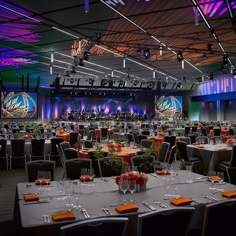 San Jose McEnery Convention Center Grand Ballroom Gala
