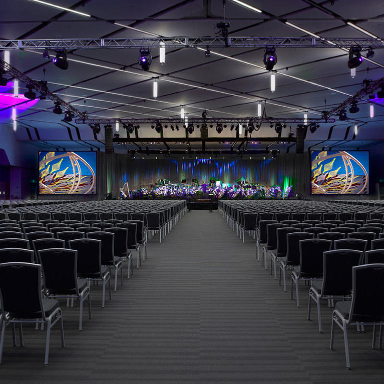San Jose McEnery Convention Center Grand Ballroom Theater