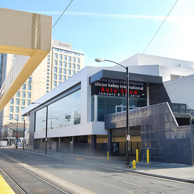 San Jose McEnery Convention Center Marquee West