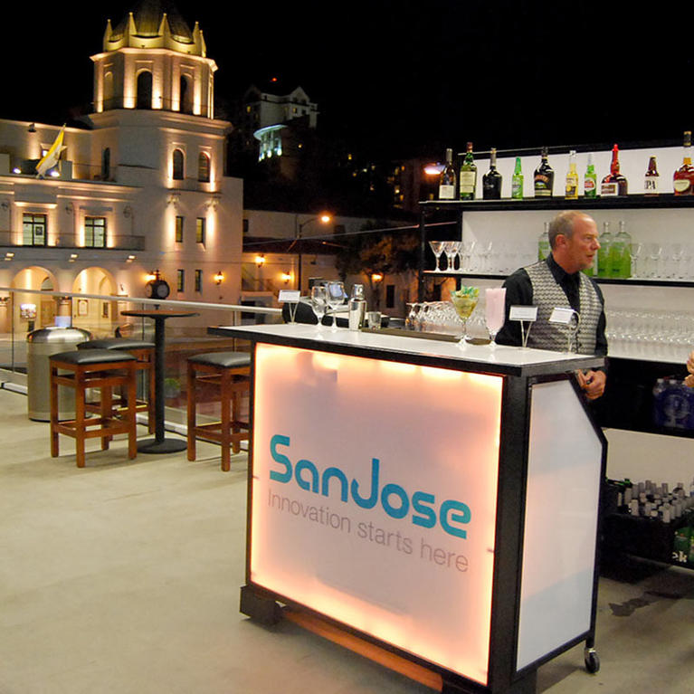 San Jose McEnery Convention Center terrace bar
