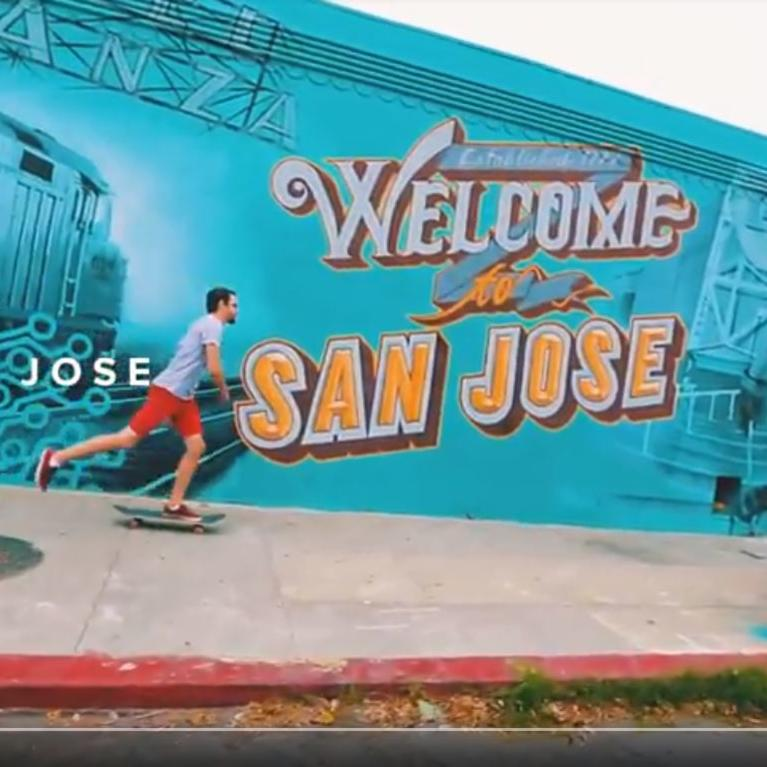 Video of abundant activity in San Jose, Santa Cruz, and the Monterey Bay region