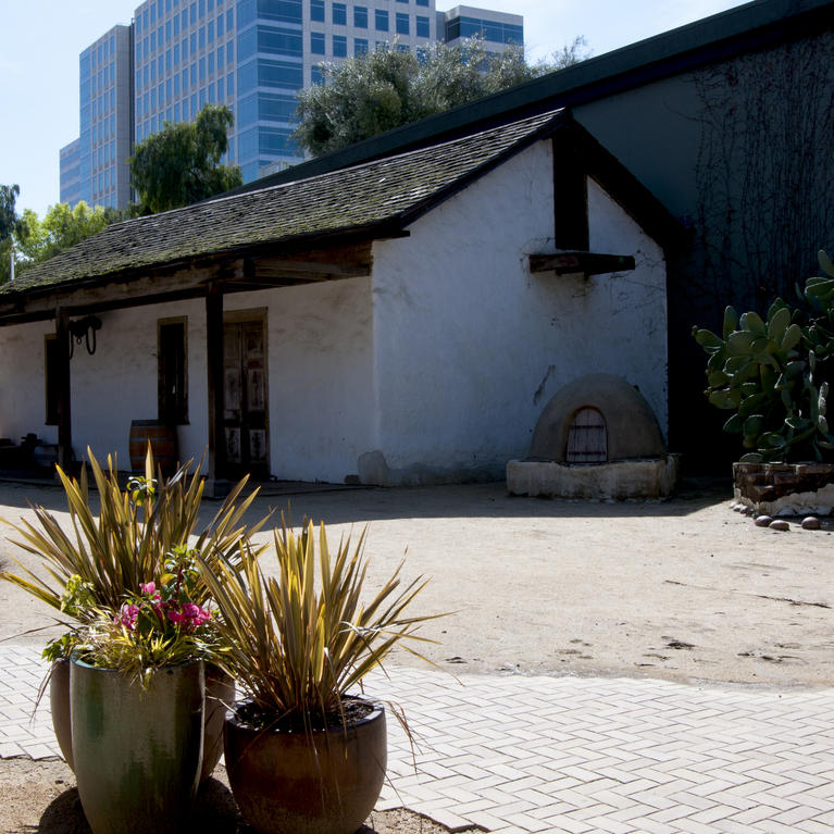 Peralta Adobe House at San Pedro Square Market