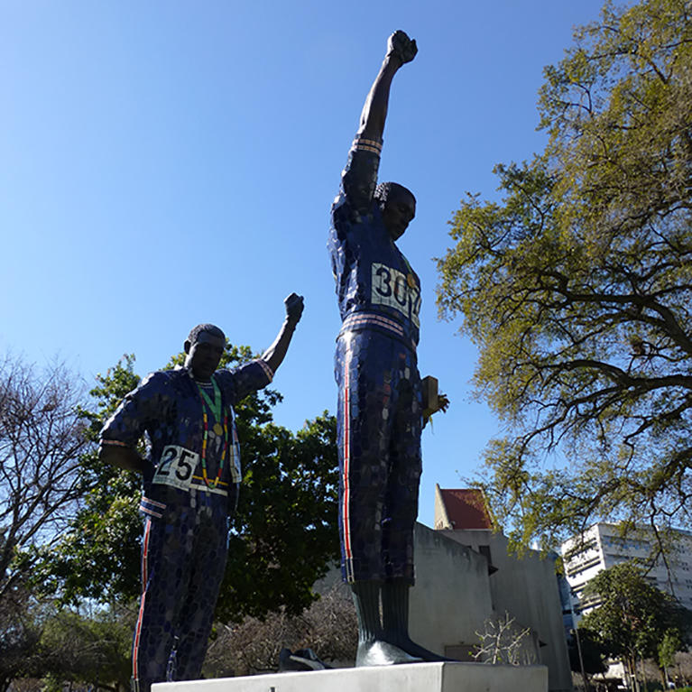 Olympic Black Power Statue