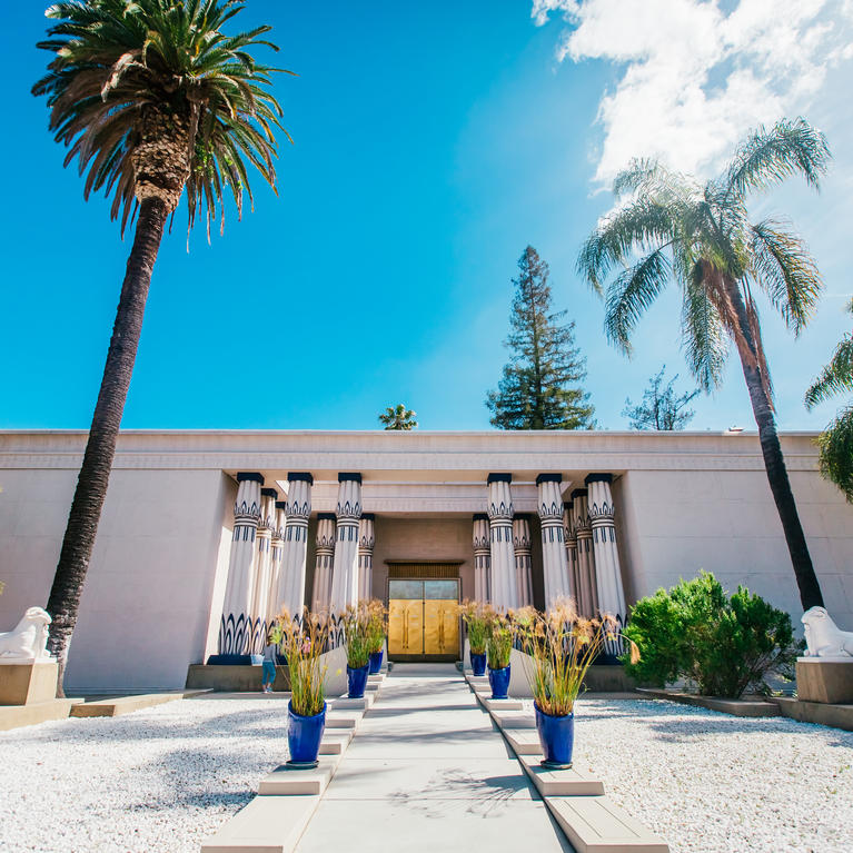 Rosicrucian Egyptian Museum in San Jose