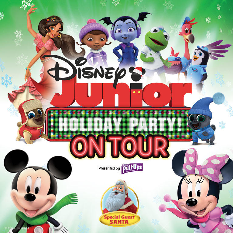 Disney Junior Holiday Party at the San Jose Civic in Downtown San Jose