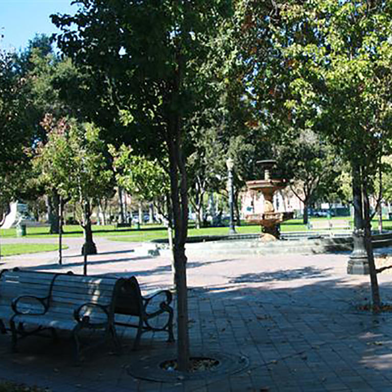 St. James Park in Downtown San Jose
