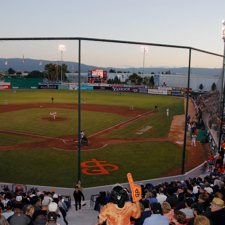 San Jose Giants Municipal Stadium