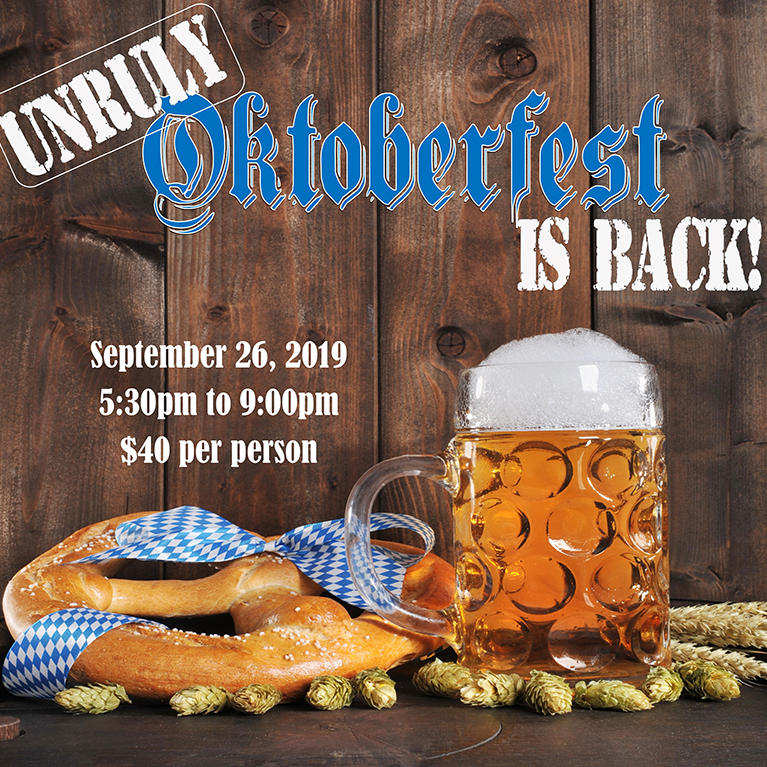 Unruly Oktoberfest at Hotel Valencia in Santana Row