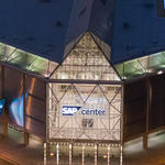 SAP Center in Downtown San Jose
