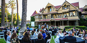 Offiste event organized at the Winchester Mystery House for clients
